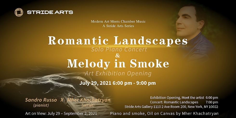 Romantic Landscapes at Melody in Smoke