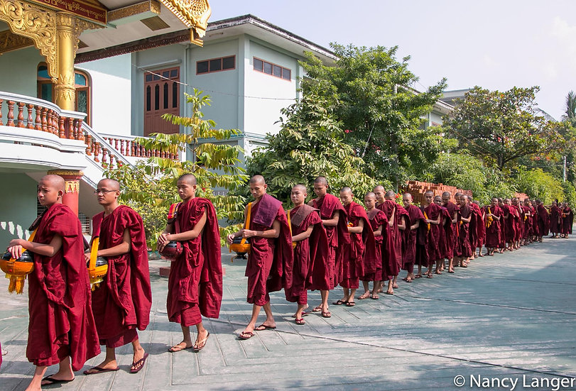 Monks And Novices, 2015, Photograph