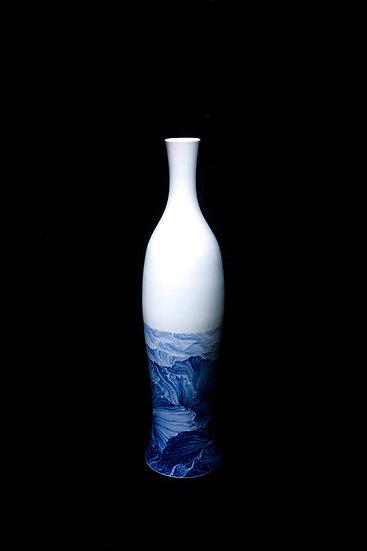 The Prosperous Lotus, 2017, Porcelain