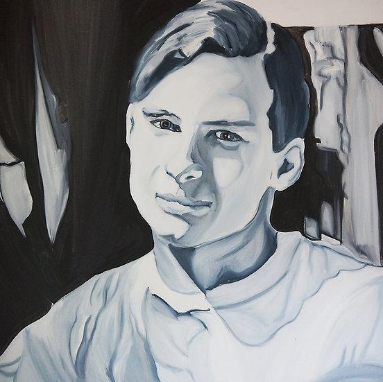 Scudder, 2002, Oil on Canvas