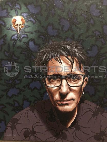 Dark Study, Acrylic on Canvas