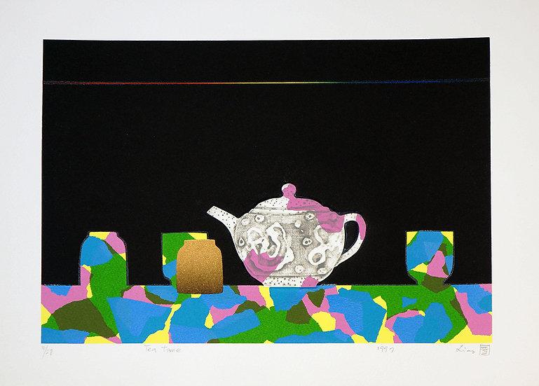 Tea Time, 1997, Silkscreen
