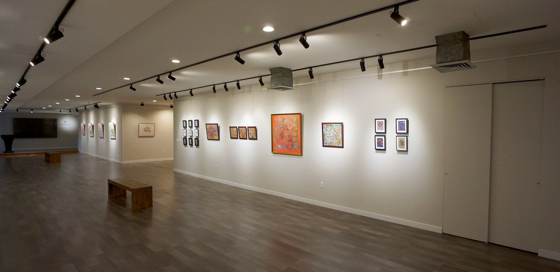 Installation image of Autumn Exhibition