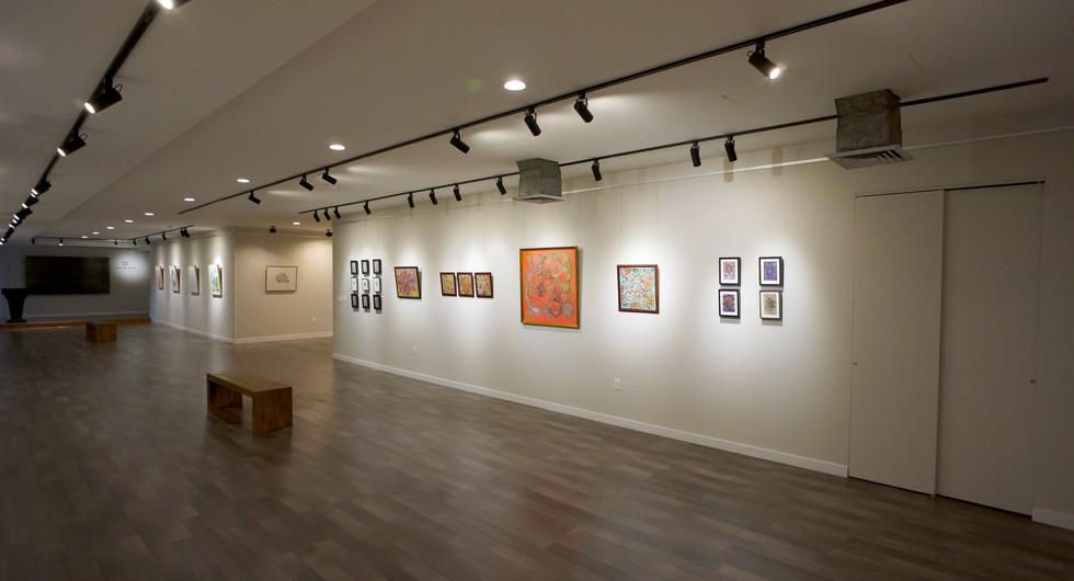 Installation image of Autumn Exhibition