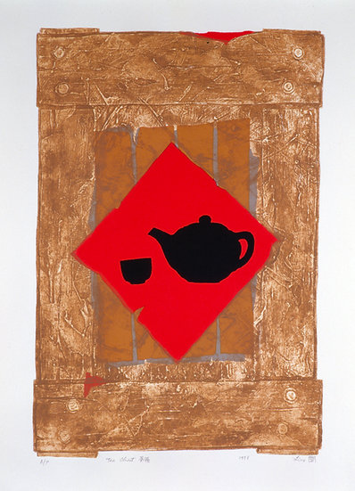 Tea Box, 1998, Silkscreen