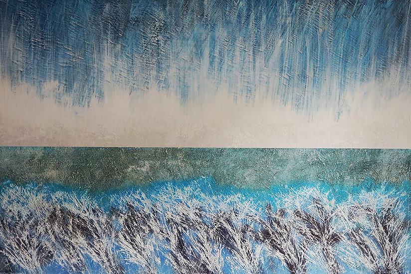 Field #1, 2018, Oil on Canvas