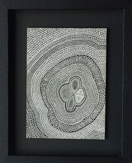 Diversity, 2015, Scratched Ink‐plated Clay Boards
