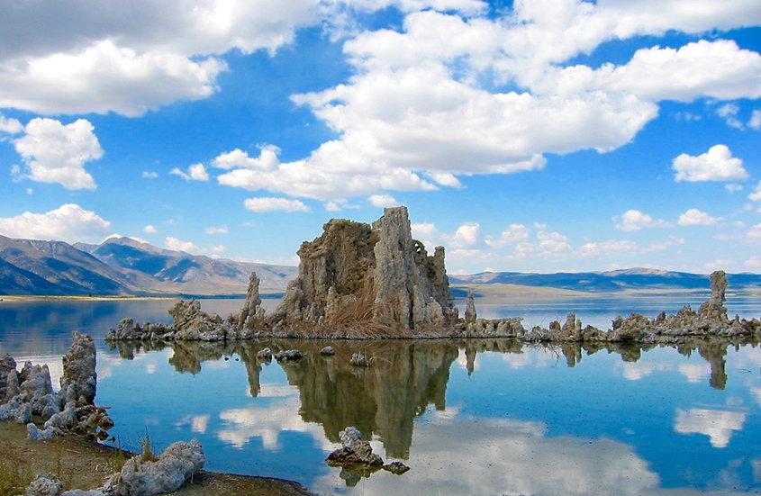 Salt Formations Mono Lake California