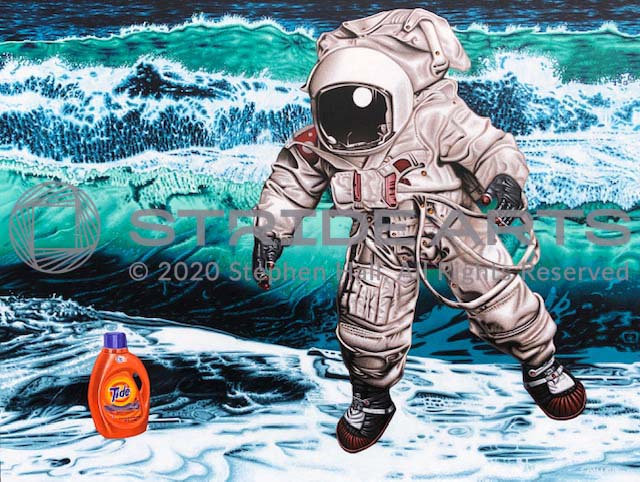 The Search for Intelligent Life on Earth, 2019, Acrylic on Canvas