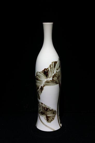 Dancing Lotus, 2019, Porcelain