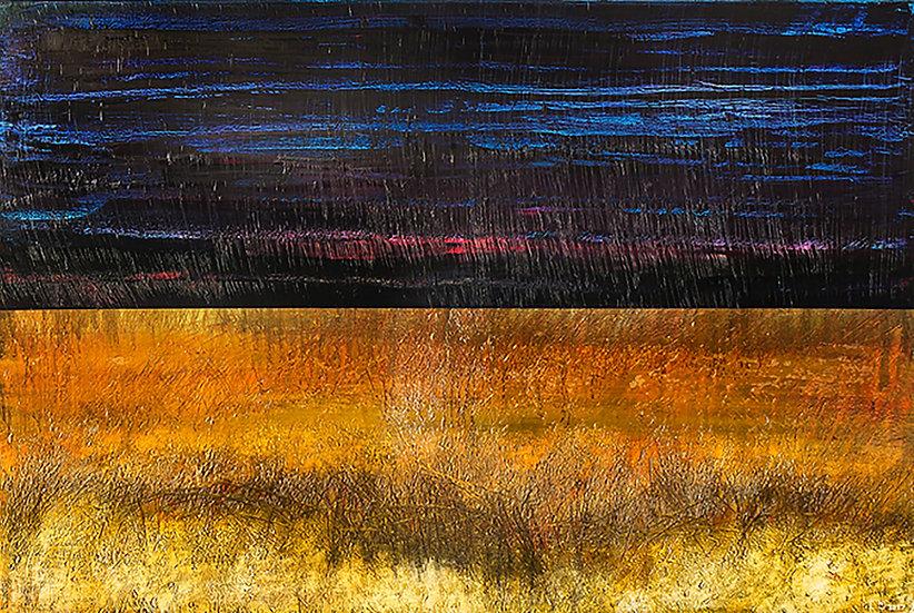 Field #2, 2018, Oil on canvas