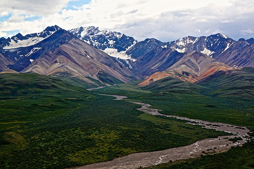 River of Silt Denali, 2013, Photography