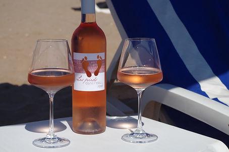 Vin rosé, rouge, blanc, bière, boissons, café, thé, chocolat, terrasse