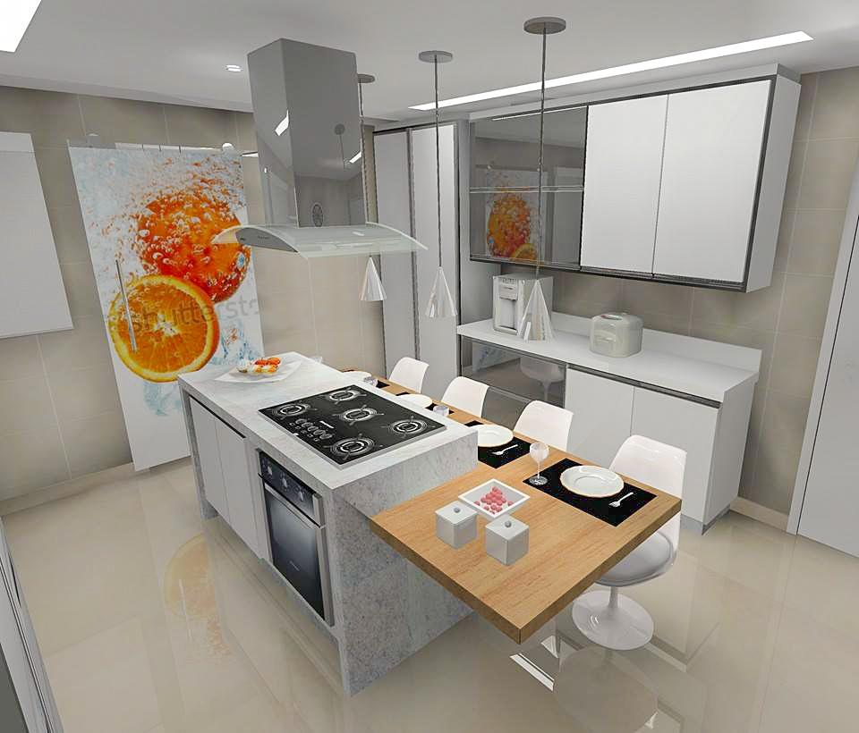 Cozinha Laranja 2