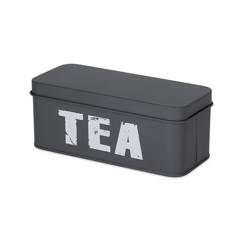 Porta Chá Cinza