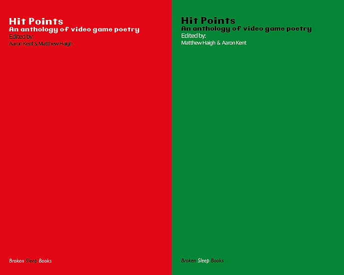 Hit Points - An anthology of video game poetry