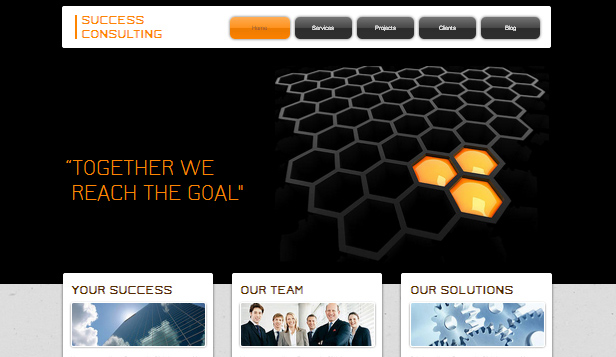 Consulting & Coaching website templates – Success Consulting