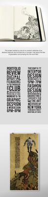Poster designed for portfolio showcase