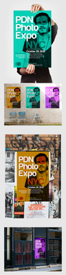 Poster series to promote photography expo