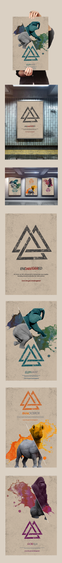 Poster series focusing on bring awareness about endangered species