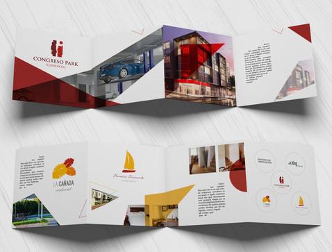Brochure design for real estate company