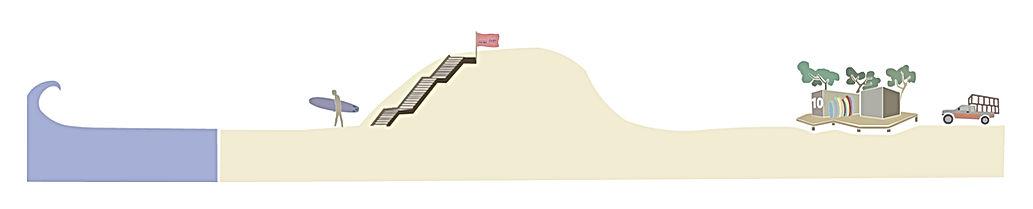 nature surf school messanges diplome du roi de la glisse umlaut architecture d'intérieur annaelle budry capbreton aquitaine landes
