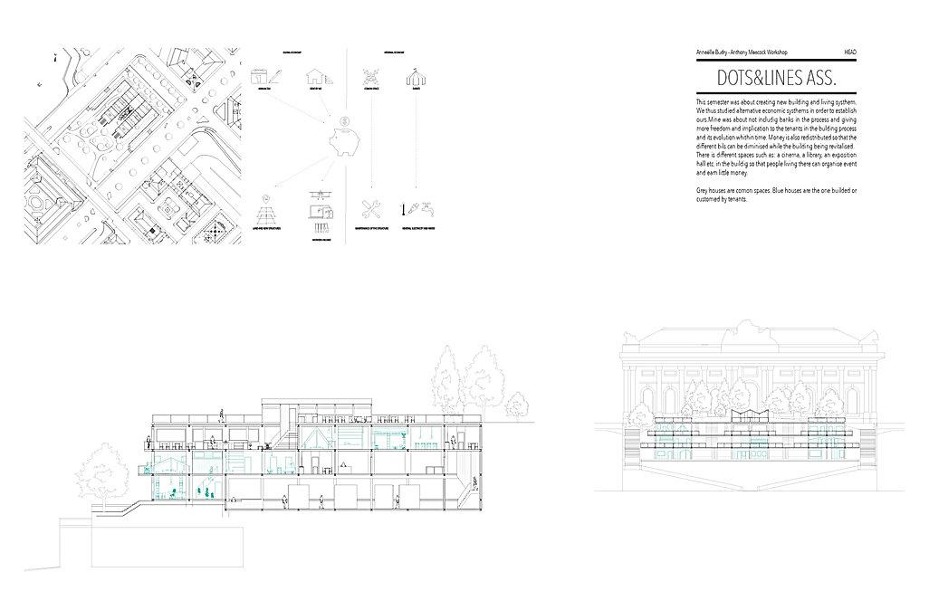auto-construction auto-planification coupes élévation Umlaut architecture d'intérieur annaelle budry capbreton aquitaine landes