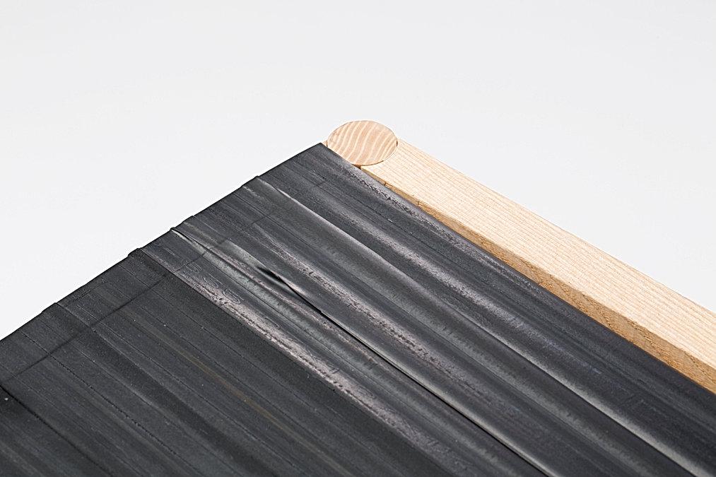 matériaux réemploi expérimentation matière caoutchoux design mobilier chaise umlaut architecture d'intérieur capbreton annaelle budry