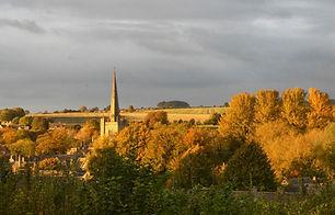 Burford Church by Gordon Elliot