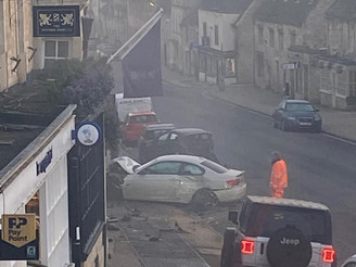 Road Accident in Burford