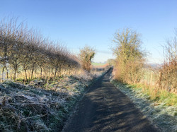 Upton Road in Winter