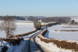 Asthall in Winter