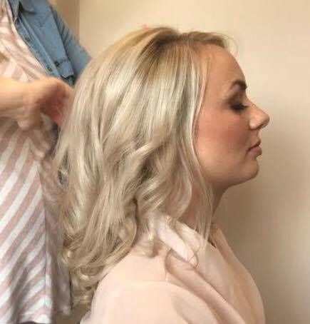 Hair and make up trial