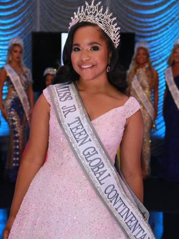 Miss Jr. Teen Global Continental 2021, Madeline Wright