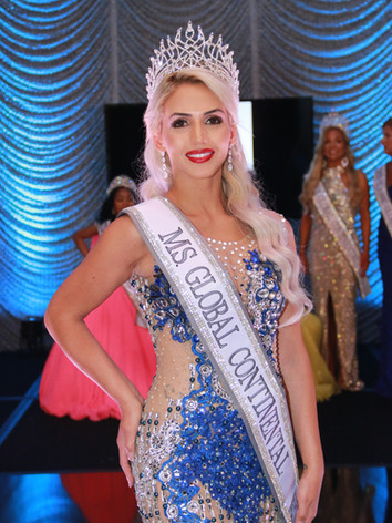 Ms. Global Continental 2021, Raissa Cruz