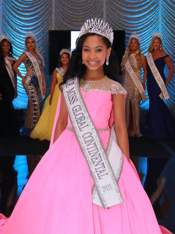Little Miss Global Continental 2021, Madison Blaize