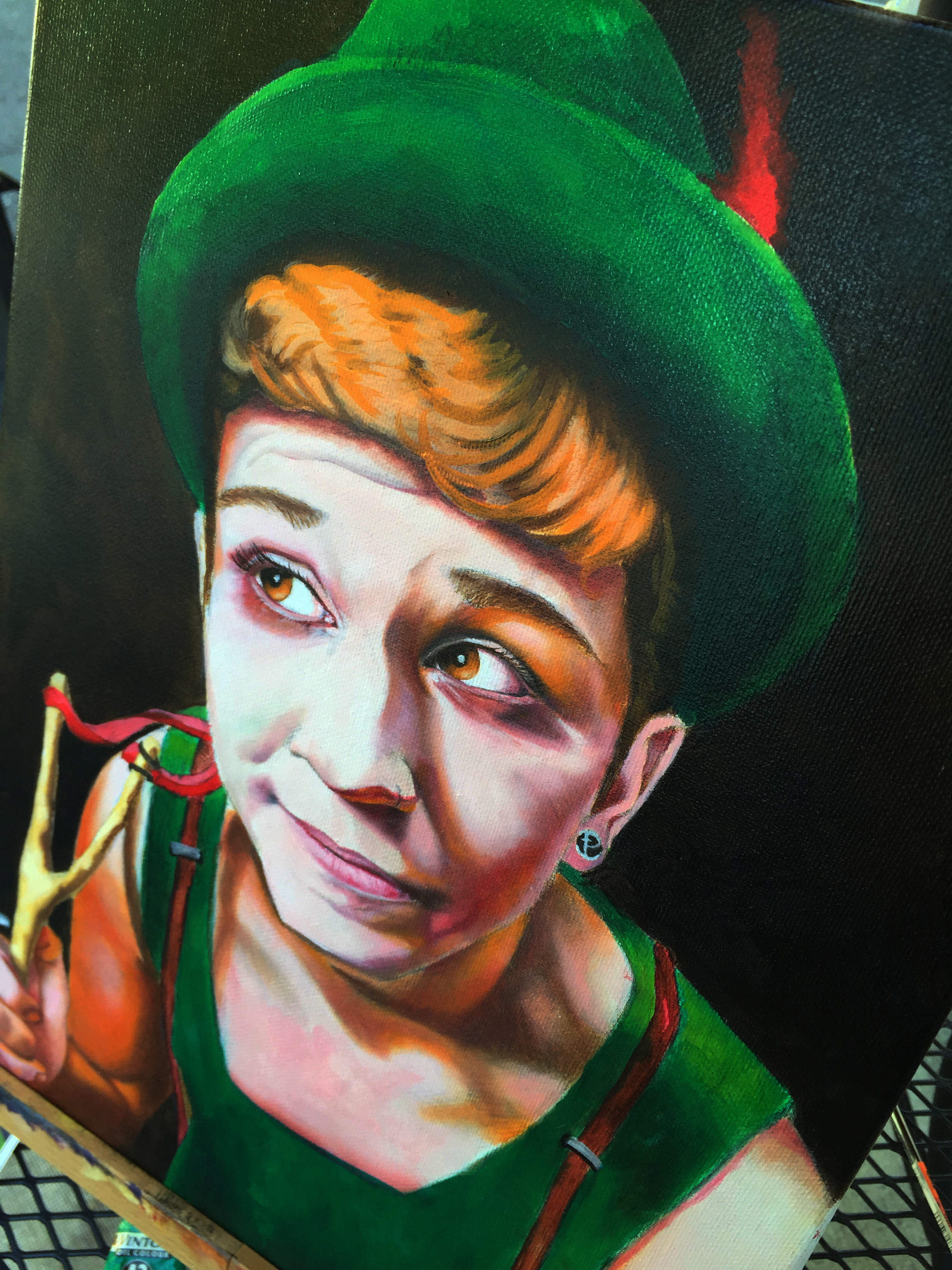 StoryBook Portraits: Peter Pan