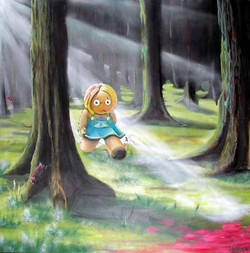 MaryAnne in the Forest