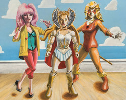 Toy Story: Ladies of the 80s