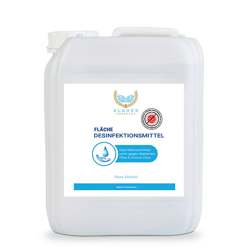 FLÄCHENDESINFEKTIONSMITTEL Blauer Schutz ohne ALKOHOL -  10 Liter