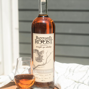 Buzzard's Roost Introduces Peated Barrel Rye Whiskey