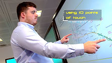 Using the CleverTouch screen from ProactiveAV