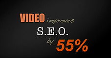 Video improves SEO by 55%
