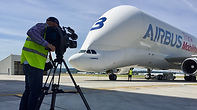 Filming the Beluga with Airbus