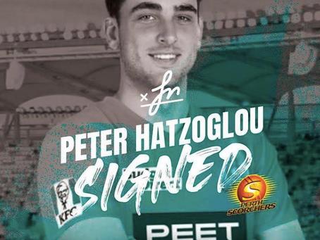 Peter Hatzoglou joins the Scorchers