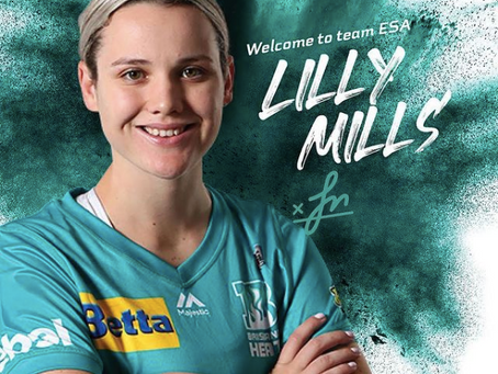 Lilly Mills joins the team