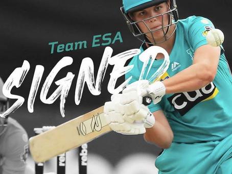 Georgia Voll joins team ESA