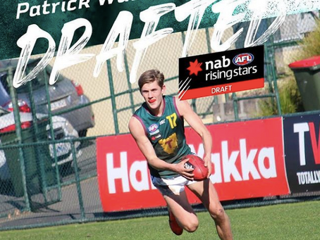 Patrick Walker drafted to North Melbourne