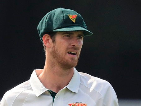 Alex Pyecroft scores contract with Cricket Tasmania