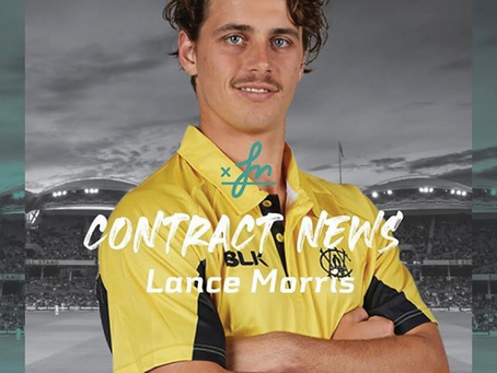 Lance Morris awarded upgraded WACA contract